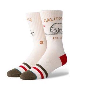 New Stance California Republic socks size L